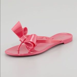 Valentino Jelly Couture Bow Sandals